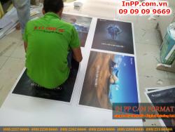In PP cán format trang trí quán cafe, quán ăn tại Tp.HCM